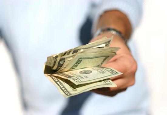 Mơ thấy cho tiền